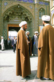 Muslim Men Standing