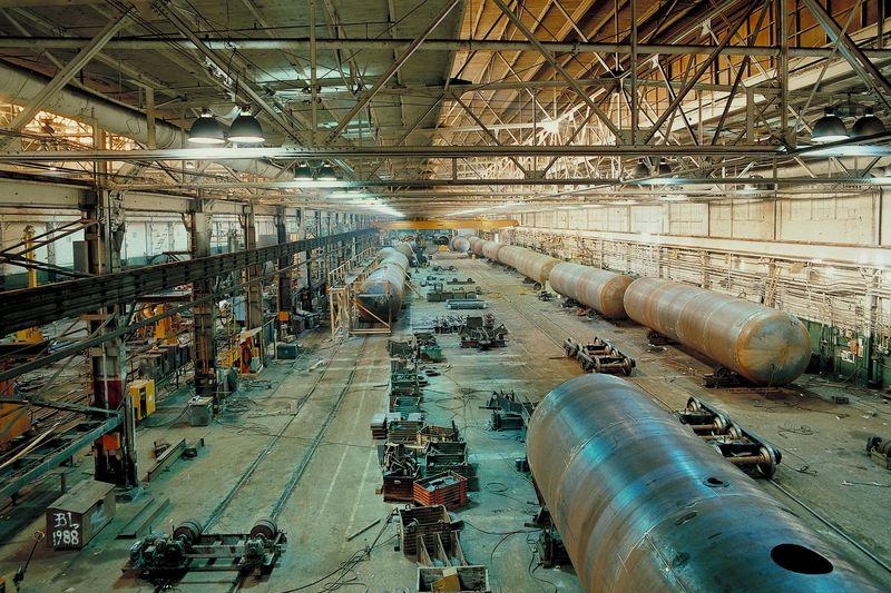 Factory empty