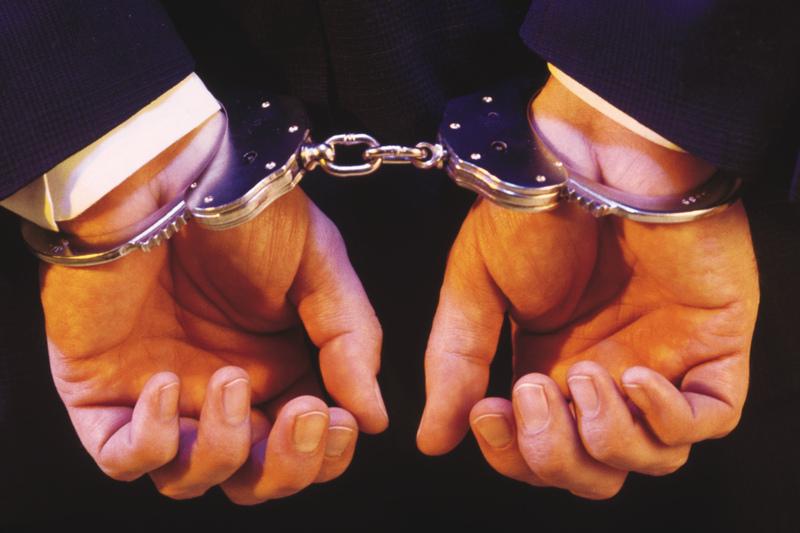 HandcuffedBusinessman