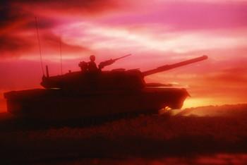 Tank silloute