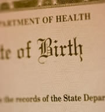 Birth Certficate