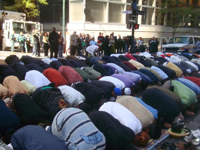 Muslims Pray