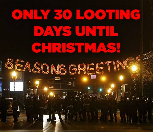 Looting for Christmas