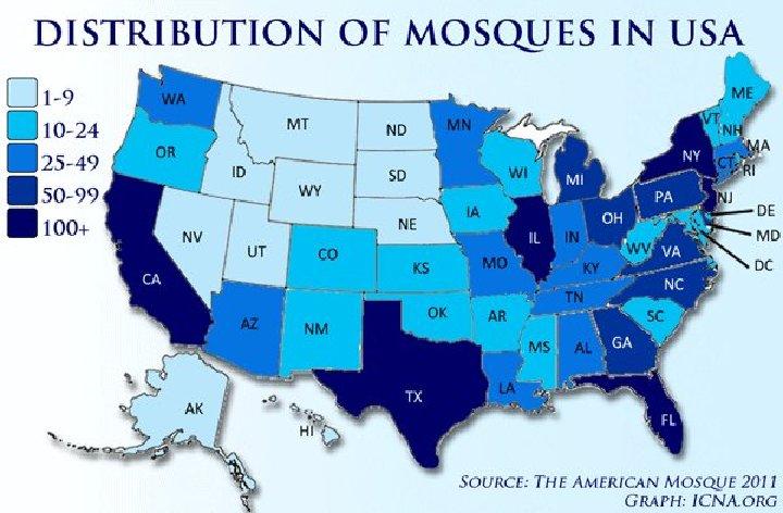 Muslim map